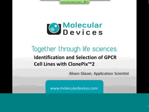 Identification and Selection of GPCR Cell Lines with ClonePix 2