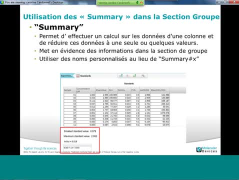 SoftMax Pro 6 Data Acquisition Tips and Tricks (French)