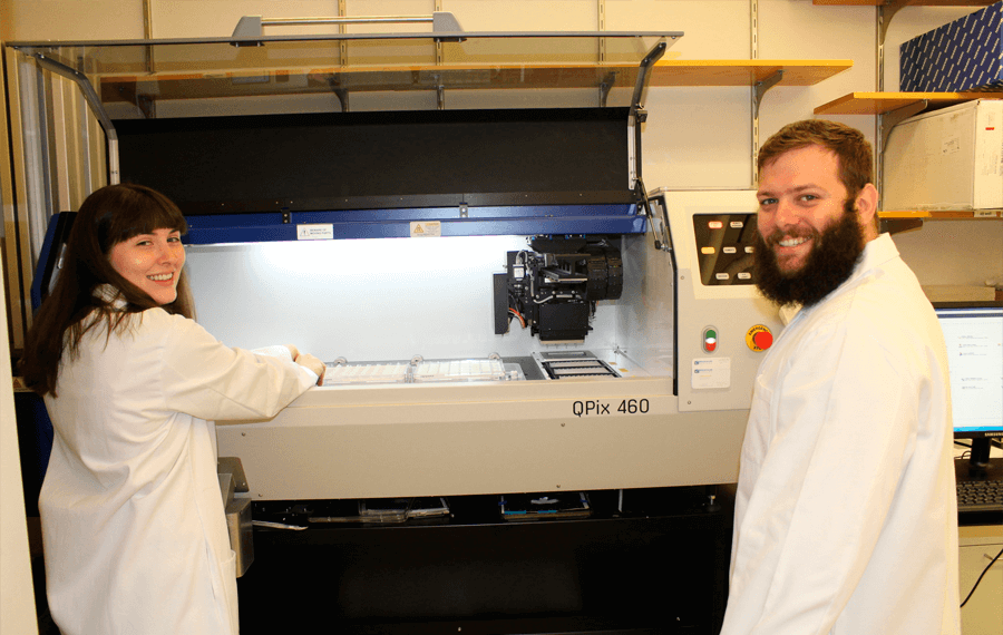 Harvard Medical School uses QPix Colony Pickers