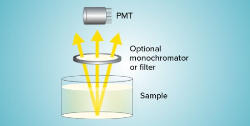 How does luminescence detection work?