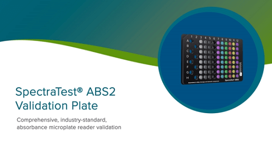 SpectraTest ABS2 Validation Plate