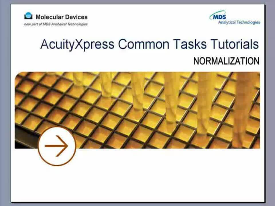 AcuityXpress Normalization