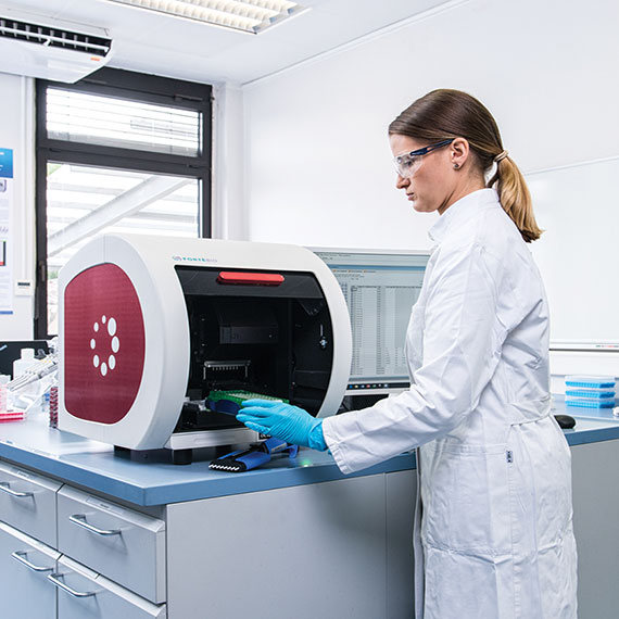 Agilent uses the Octet RED96e system with GxP software to ensure data integrity
