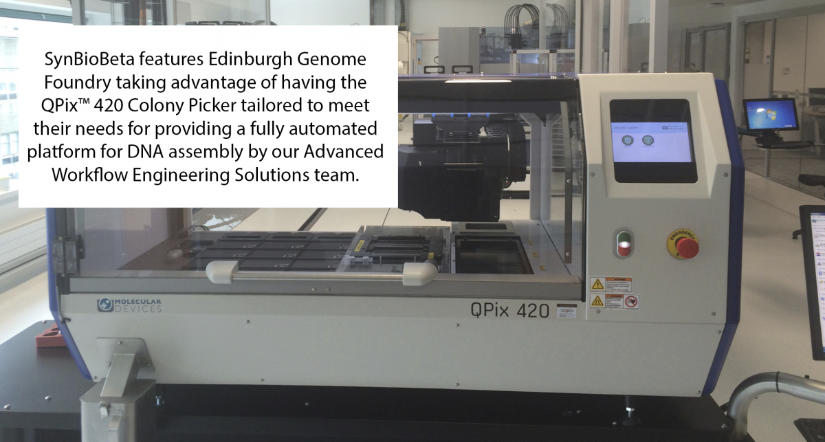 Featured Story - Edinburgh Genome Foundry
