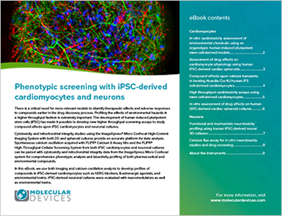 Phenotypic Screening With iPSC-Derived Cardiomyocytes