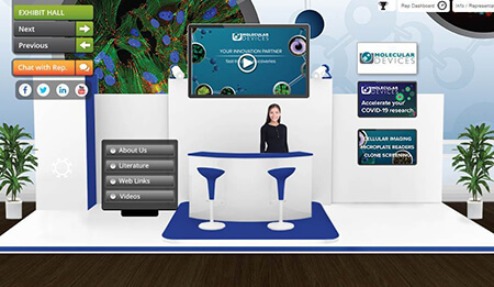 Virtual Tradeshow Booth