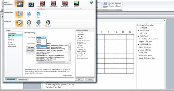 Absorbance Assay in SoftMax Pro 7 Software