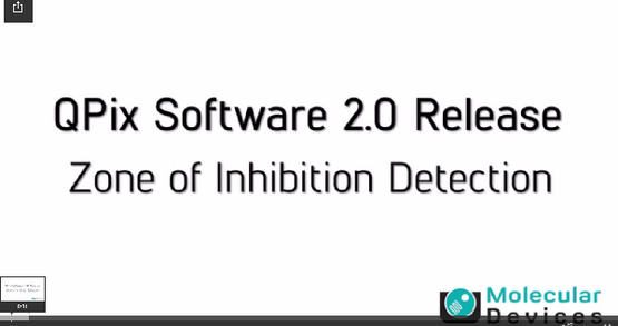 QPix Software 2.0 - Zone of Inhibition Detection