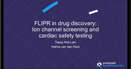 FLIPR in drug discovery: Ion channel screening and cardiac safety testing