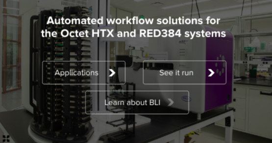 Automated workflow solutions for the Octet HTX and RED384 systems