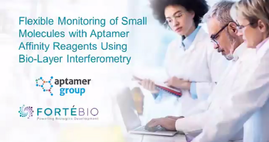 Flexible Monitoring of Small Molecules with Aptamer Affinity Reagents Using Bio-Layer Interferometry