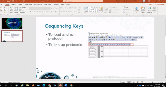 Sequencing Keys Clampex 11