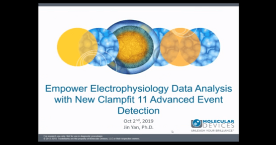 electrophysiology data analysis with Clampfit 11