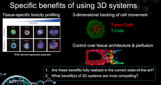 Transitioning high-content assays to 3D