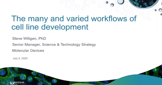 Cell Line Development Workflows